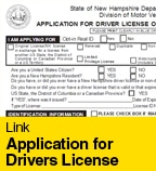 Application for Drivers License