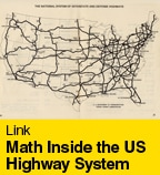 Math Inside the US Highway System