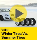 Winter Tires Vs. Summer Tires